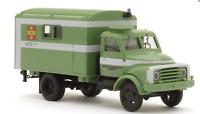 Busch 1:87/HO 50803 1958 Hanomag AL 28 MKW Box-Body Personnel Truck