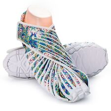 NEW VIBRAM FUROSHIKI GREEN / WHITE WALKING - YOGA SHOES SIZE S / UK 5 - 6
