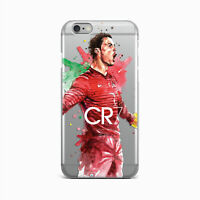 Ronaldo iPhone X XR XS Max Rubber Cover CR7 iPhone 6s 7 8 Plus Silicone Gel Snap