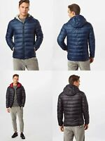 Only and Sons Mens Lightweight Puffer Puffa Jacket Duck Down Bubble Coat Hooded