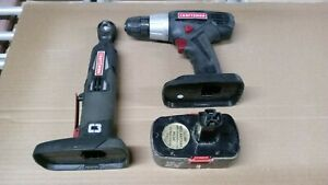Craftsman C3 max axess ratchet, 3/8 drill and battery 19.2 volt
