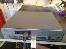 CISCO1941/K9 - Cisco 1941 with 2 onboard GE, 256MB CF,512MB DRAM , IP Base