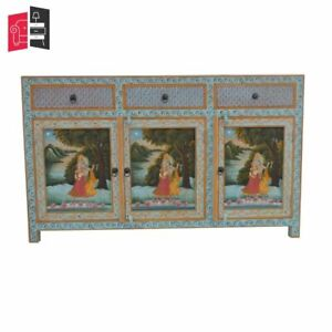 Krishna Hand Painted Sideboard (MADE TO ORDER)