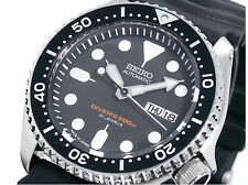 "SEIKO Diver's Watch 200m SKX007J Black for Men ""MADE IN JAPAN"" from Japan  [JP]"
