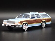 1979 79 FORD LTD COUNTRY SQUIRE STATION WAGON RARE 1:64 SCALE DIECAST MODEL CAR