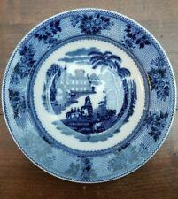 "Societe Ceramique Maestricht Holland Dish Plate Wall Charger Delhi 23 cm/9"" VTG"