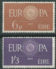 IRLANDA EUROPA cept 1960 Sin Fijasellos MNH