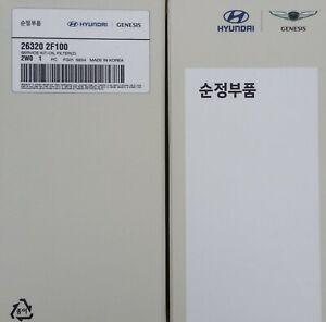 AU STOCK Genuine Hyundai Santa Fe Diesel oil filter Inc.Sump plug gasket.
