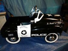 Gearbox Police Car Highway Patrol #287 To Protect Serve Child's Pedal Car