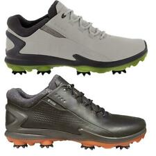 Ecco Golf BIOM G3 Gore-Tex Waterproof Cow Leather Mens Spiked Golf Shoes