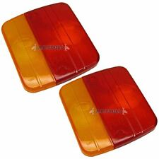 Trailer Lens / Lense Replacement for Lighting Board Lights / Lamps PAIR TR116