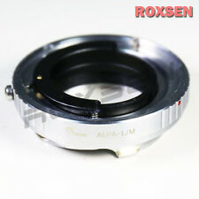 Alpa mount lens to Leica M L/M LM adapter M6 M7 M8 M9 M9P M-E M-240 246 camera