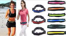Universal Sport Fitness Running Jogging Pouch Belt Waist, Waterproof Mobile Belt