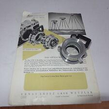 Optisches Naheinstellgerät Zubehör für Leica Kamera Ernst Leitz Wetzlar GmbH