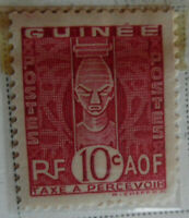 French Guinea 1938 Stamp 10c MNH Stamp Rare StampBook1-65