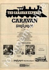 Caravan For Girls Who Grow Sundance Malcolm's Disco Hull MM3 LP/Tour advert 1973