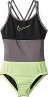 Nike Girl's Multicolored One-Piece Swimsuit 10309 Size 10