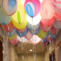 10Pcs/Lot 12 Inch Marble Agate Latex Balloon Party Birthday Decro Baby Shows