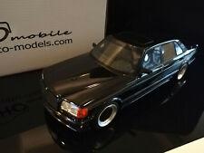 Mercedes Benz 560 6.0 SEL AMG (W126) - schwarzmetallic - Otto Models 1:18 - OVP