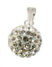 Modeschmuck-Halsketten & -Anhänger aus Sterlingsilber mit Kristall für Damen