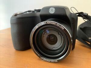 GE X2600 16.1MP Digital Camera Black 26mm Wide Angle Lens 720p Video Used