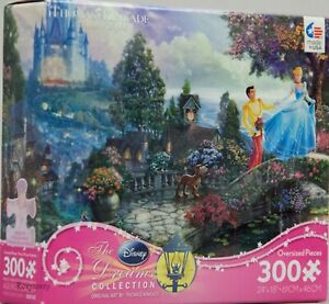 Disney Thomas Kinkade Cinderella Wishes Upon a Dream 300 Piece Puzzle NIB