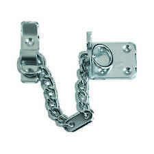 Heavy Duty Door Chain - Satin Chrome Plated