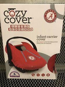 University ALABAMA CRIMSON TIDE COZY COVER Lined Infant Car Seat Carrier Cover