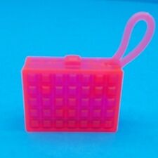 BARBIE PURSE FASHIONISTAS SO SPORTY DOLL NEON PINK SQUARE CLUTCH ACCESSORY