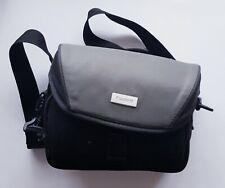 Black/Grey Soft Case Camera Shoulder Carry Case Hold All Bag For Canon Camera