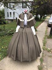 Civil War Dress Victorian Dickens Renaissance Prairie Christmas Caroling Costume