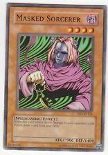 YU-GI-OH Masked Sorcerer Common DB1-EN154 englisch Maskierter Hexenmeister