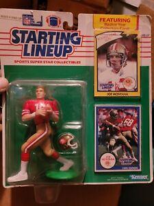 Joe Montana 1990 Kenner Starting Lineup SF 49ers NFL Football SLU