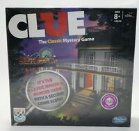 Clue Classic Game Sealed Boardwalk Second Crime Scene Murder Mystery Ages 8 Up
