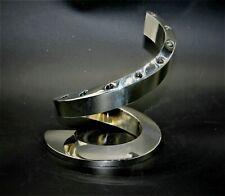 DANSK DESIGNS  silver-plated spiral candle holder, Bertil Vallien  Japan MCM