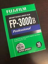 Fujifilm FP-3000B Instant Black & White Film