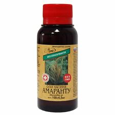 Amaranth oil, Squalene is not less than 150 mg%.Bio organic. 100ml.