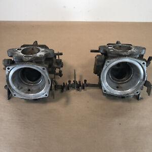Triumph TR7 Zenith Stomburg Dual Carburetor Setup OEM