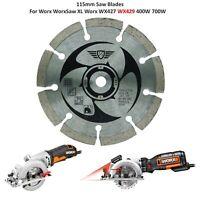 Topstools 115mm Saw Blades For Worx WorxSaw XL Worx WX427 WX429 400W 700W