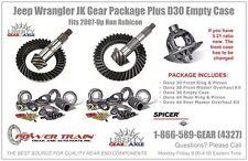 Jeep Wrangler JK 5.13 Gear Package Fits Non Rubicon 2007-Up Plus D30 Empty Case