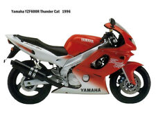 Motorcycle Canvas Picture Yamaha YZF600R 1996 Canvas 16x12 inch