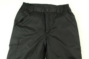 Kid's Ski Black Pants Snowboarding Size 10/12