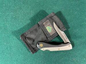 Puma Small Folding Hunter with Sheath, Folding Pocket Knife