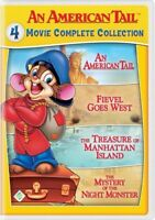 An American Tail: 4 Movie Complete Collection [New DVD] 2 Pack