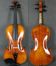 Strad Copy-Beautiful Handmade&Varnished 4/4 Full Size Violin /Free case&Bow