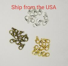 20pcs Zinc Alloy Lobster Claw Clasps 12x6mm jewelry necklace bracelet