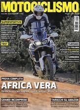 Motociclismo 2018 3.Africa Twin Adventure Sport,Honda CX500 Turbo,Honda X-ADV