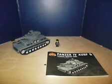 Panzer IV AUSF G German Medium Tank - Brickmania Custom LEGO Building Set