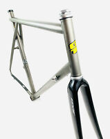 GT Forte 3/2.5 Titanium Frame, Tange Threaded Headset / Edge Carbon Fork