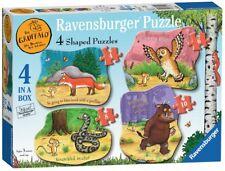 NEW! Ravensburger The Gruffalo 4 shaped jigsaw puzzle set 06980 Age 3+